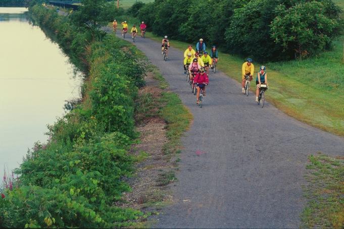 82-cycling along water