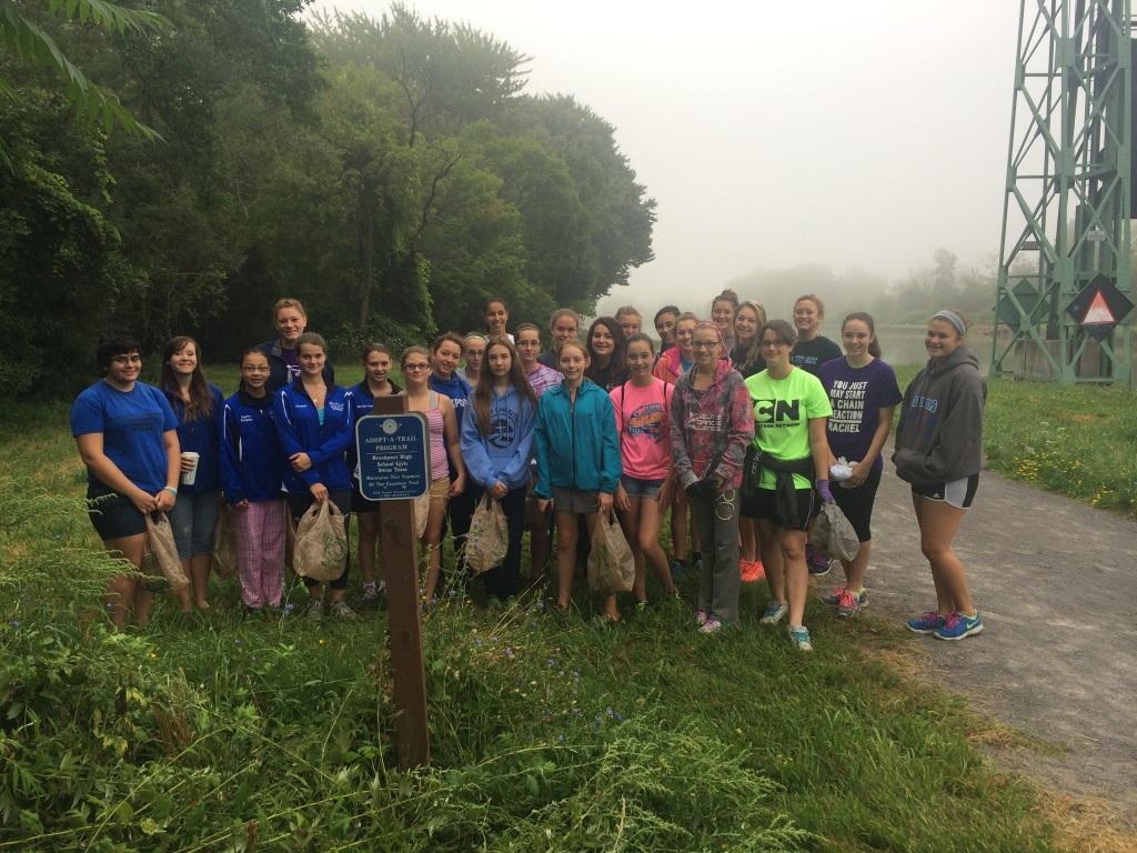 Brockport HS Girls Swim Team