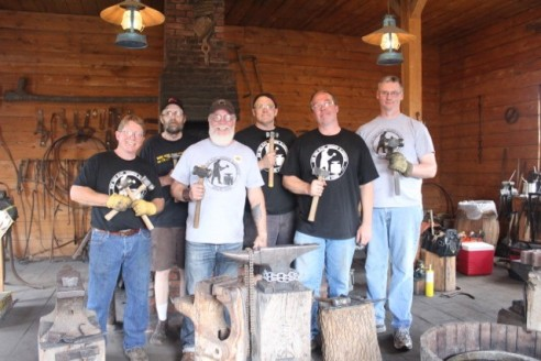 Blacksmiths group photo